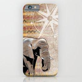 Elephant Safari iPhone Case
