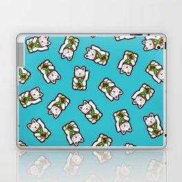 Lucky Cat Pattern Laptop & iPad Skin