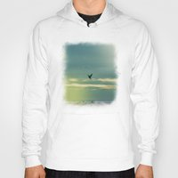 fly Hoodies featuring Fly by Viviana Gonzalez