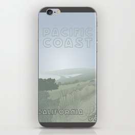 Pacific Coast - California iPhone Skin