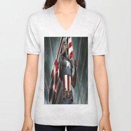 CaptainAmerica Unisex V-Neck