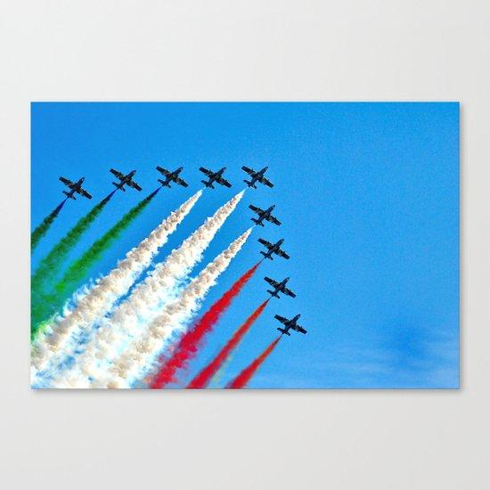 Frecce Tricolori Canvas Print