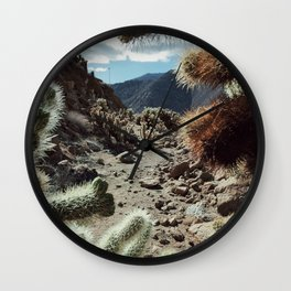 Cholla Frame Wall Clock