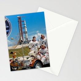 Apollo 17 - Prime Crew Portrait Stationery Cards