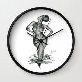 Madame Lele by J Namerow Wall Clock