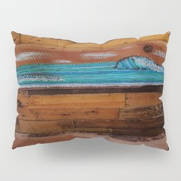 Peace of Wood Pillow Sham