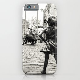 Fearless Girl & Bull - NYC iPhone Case