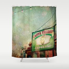Caffe Trieste Shower Curtain