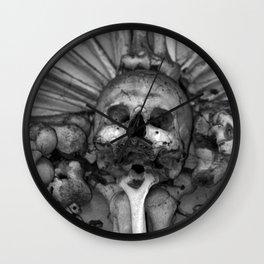 Kostnice Beinhaus Interior Wall Clock