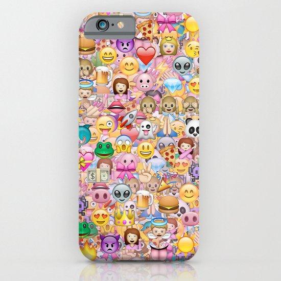 emoji / emoticons iPhone & iPod Case