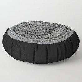 TMNT SEWERS Floor Pillow