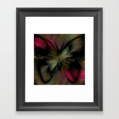 Butterfly Feathers Framed Art Print