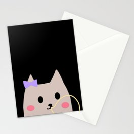 cat 415 Stationery Cards