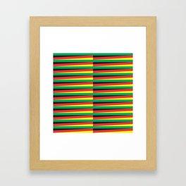 Kinetic Reggae Framed Art Print