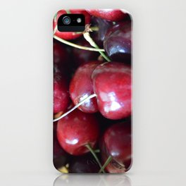 The cherry on top iPhone Case