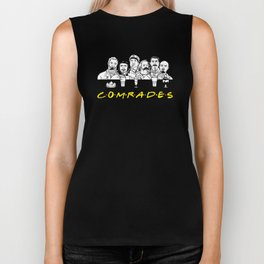 Communist Friends Comrades Biker Tank