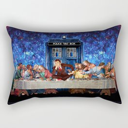 Tardis doctor who lost in the last supper iPhone 4 4s 5 5c 6, pillow case, mugs and tshirt Rectangular Pillow