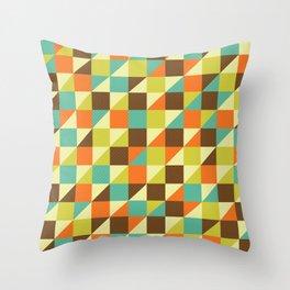 GeoPatt Throw Pillow