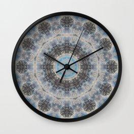 SNOWFLAKES - I Wall Clock