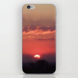 Sweet Pink Orange Sunset iPhone Skin