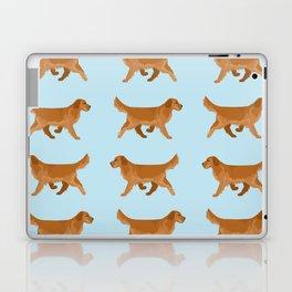 Golden Retriever Love Laptop & iPad Skin