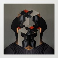 no face Canvas Prints featuring Face by LIVESequence