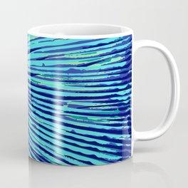 blue half moon mushroom Coffee Mug