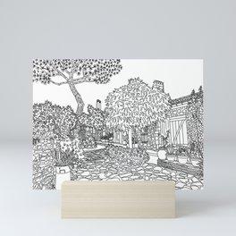 Snapshot in Collioure, France Mini Art Print