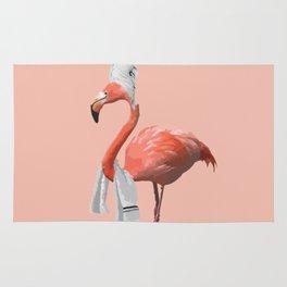 Squeaky Clean Flamingo Rug