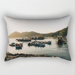 Sunset at Tai O Rectangular Pillow