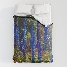 Delphinium Garden Comforters