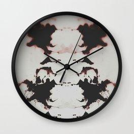 sangue su sangue/ Blood over Blood  Wall Clock
