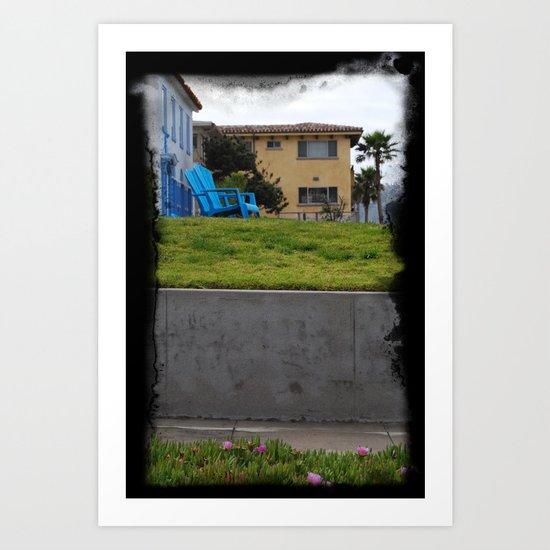 House on The Esplanade Art Print