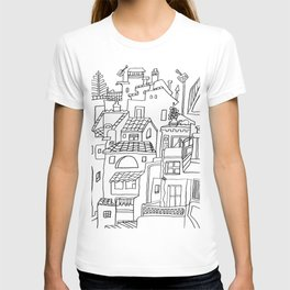 Benalmadena Village On The Coast of Sunshine T-shirt