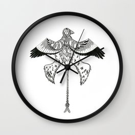 Microraptor 2  Wall Clock