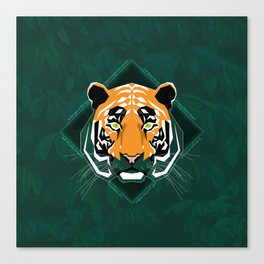 Tiger's day Canvas Print