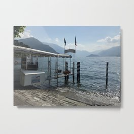 Ferry from Bellagio Metal Print