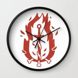 Bonfire (Demon's Souls & Dark Souls) Wall Clock