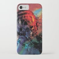 spaceman iPhone & iPod Cases featuring Spaceman by Karen Donald
