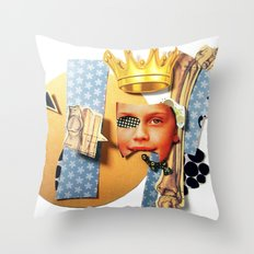 Skin Deep | Collage Throw Pillow
