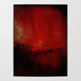FOREST RED Poster
