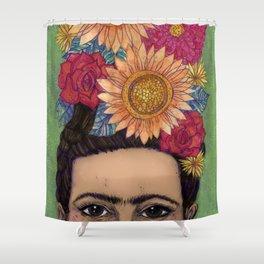 Vibrant Frida Shower Curtain