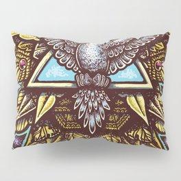 Trinity Merkabah Spirit Dove Mandala Pillow Sham
