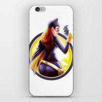 batgirl iPhone & iPod Skins featuring Batgirl by kcspaghetti