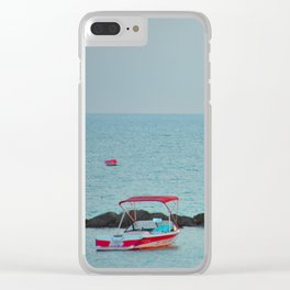 Between Sea and Sky Clear iPhone Case