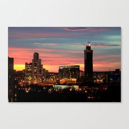 Sunset, Yekaterinburg Canvas Print