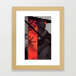 Iron Bull Framed Art Print