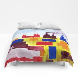 Logical Progression Comforters