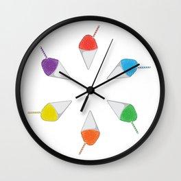 Piragua Wall Clock