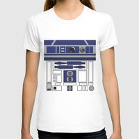 starwars T-shirts featuring R2D2 - Starwars by Alex Patterson AKA frigopie76